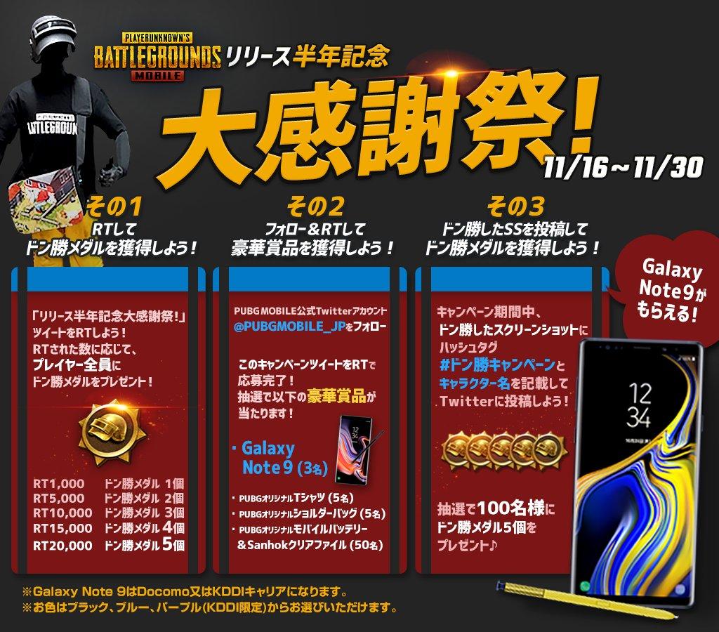 PLAYERUNKNOWN'S BATTLEGROUNDS (プレイヤーアンノウンズバトルグラウンズ)のリリース半年記念大感謝祭