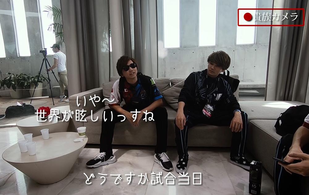 普段見ることのできない日本チーム「野良連合」の選手の素顔