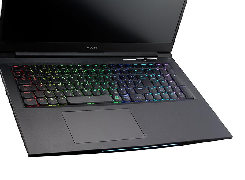 パソコンのキーボードLEDライト