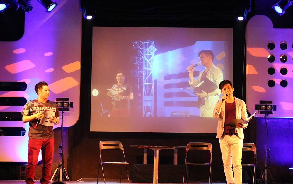 eSports conferenceのオープニングを飾るサイコパス堀川氏と吉﨑 智宏氏