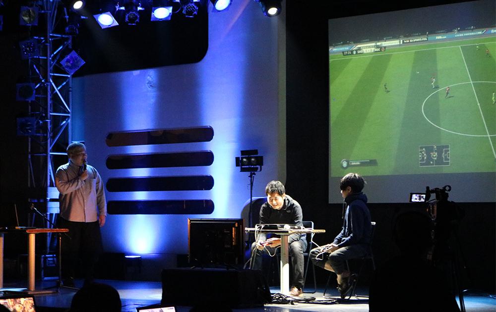 FIFA19でのスペシャルマッチの模様