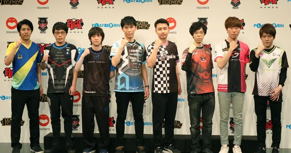 新チーム「AXIZ」「Sengoku Gaming」「Rascal Jester」の参加が決定 「LJL 2019」の新体制発表