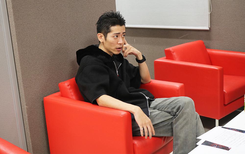 インタビューに答える「Team MVP Japan」代表の竹田氏
