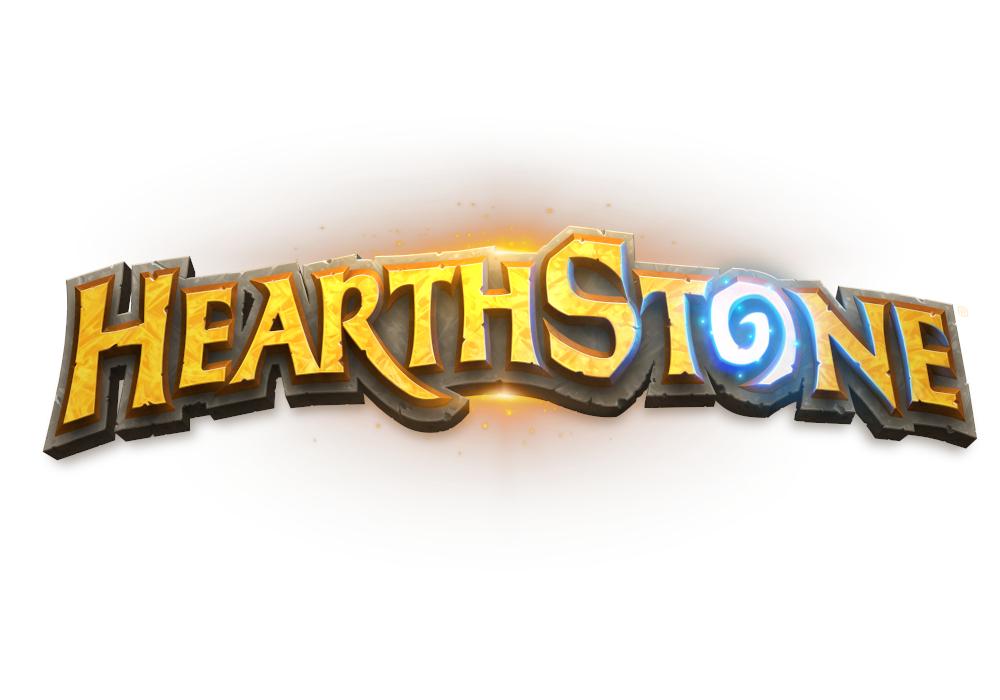 ハースストーンのロゴ