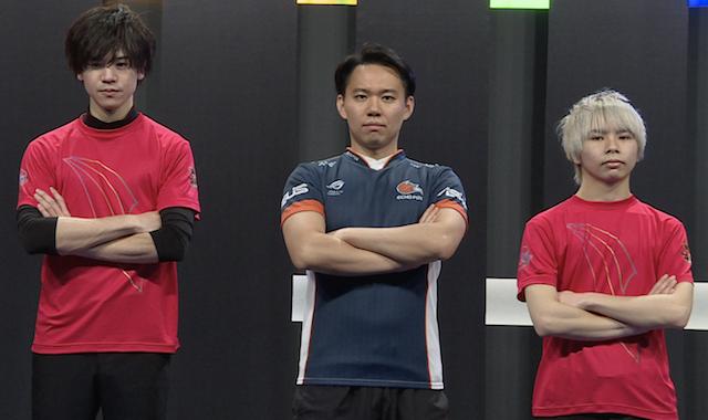 「TOKIDO FLAME」ときど選手、ひびき選手、岬康星選手