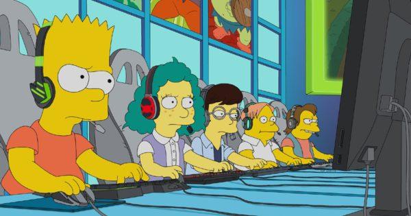 米アニメ「ザ・シンプソンズ」にてesportsのエピソードが放映 ライアットゲームズと共同制作