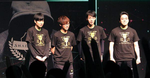 RAGE 「Shadowverse Pro League 2018 League Championship」レバンガ☆SAPPOROが年間王者に輝く