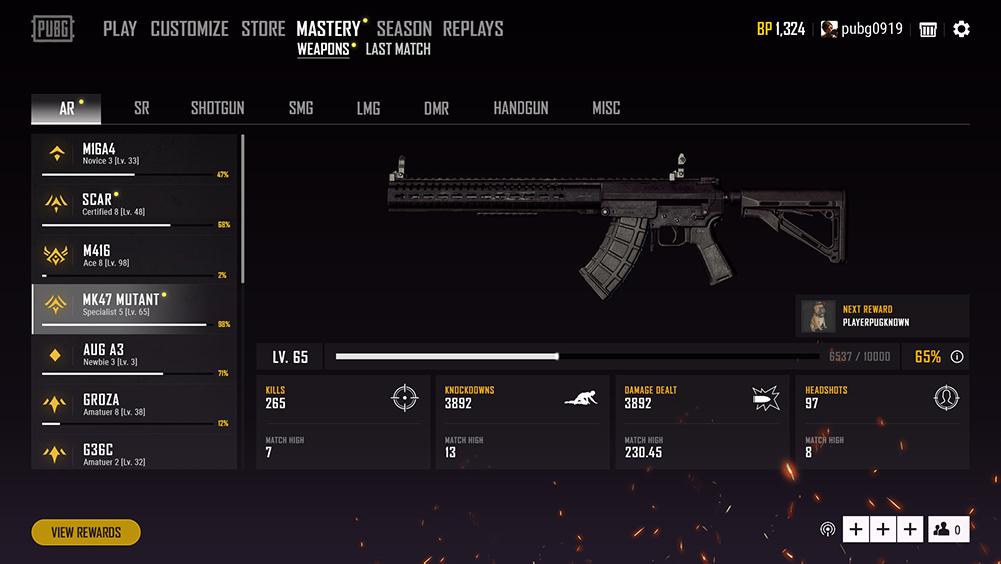 新システム「Weapon Mastery」