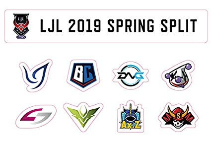 LJL 2019 Spring Sprit オフィシャルステッカーシート