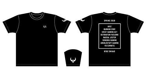 LJL 2019 Spring Sprit オフィシャルTシャツ
