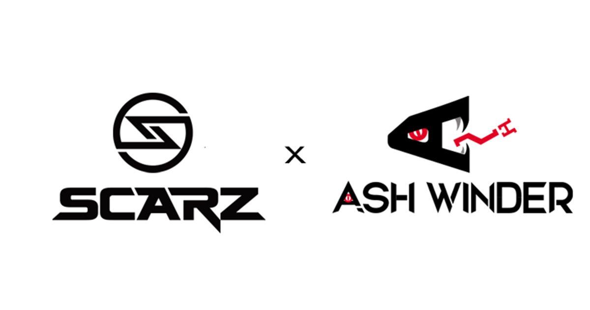 SCARZがAsh Winder E-sports ARENAとアリーナスポンサー契約締結