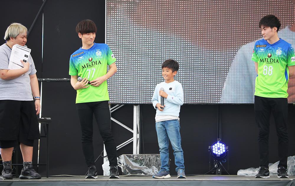 挑戦者のソウヤくん(9歳)
