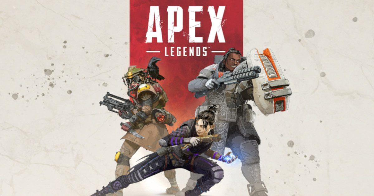 Apex Legends ゲーム内で謎のノートパソコンが発見される