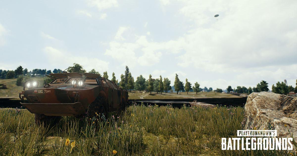 PUBG 最新アップデート情報まとめ 新車両「BRDM-2」や新武器「Deagle」の実装を発表