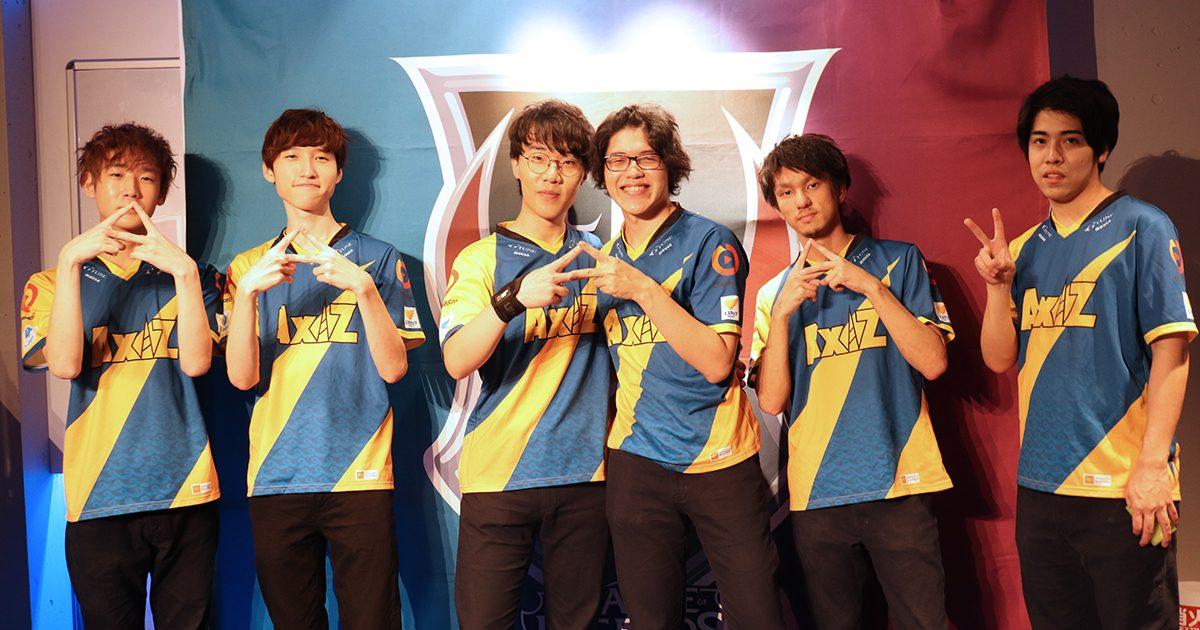 「LJL SUMMER SPLIT 2019」全8チームショートインタビュー AXIZ編