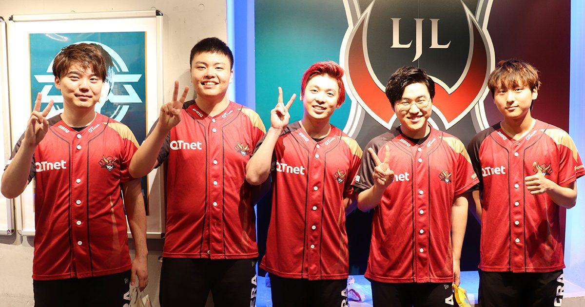 「LJL SUMMER SPLIT 2019」全8チームショートインタビュー Sengoku Gaming編