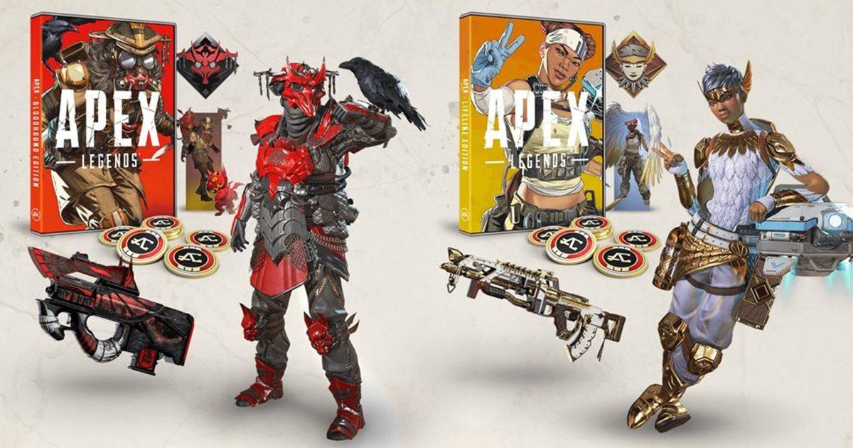 Apex Legends PS4パッケージ版「ライフラインエディション」「ブラッドハウンドエディション」が10/18に販売決定