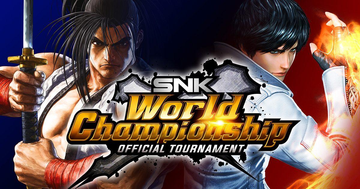 人気格闘ゲーム「サムライスピリッツ」と「KOF XIV」の世界一を決定する「SNK WORLD CHAMPIONSHIP」が開催