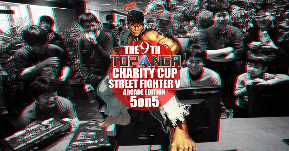 年末の大型格闘ゲームイベント「第9回TOPANGAチャリティーカップ」が12/28(土)に開催することが決定