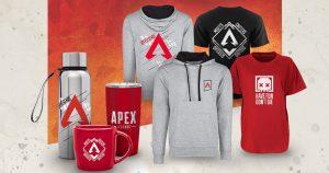 Apex Legends 公式オンラインショップがオープン Tシャツやマグカップなどオリジナルグッズが勢ぞろい