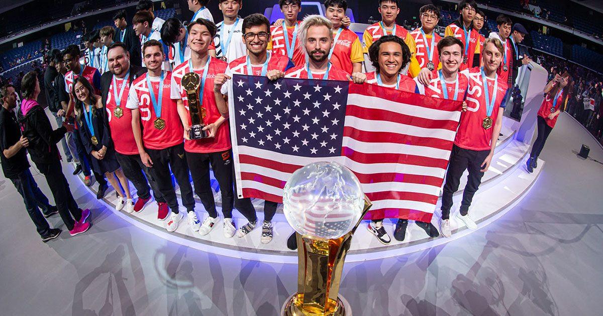 OW世界大会「オーバーウォッチワールドカップ」アメリカ代表が悲願の初優勝