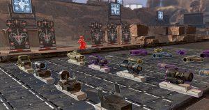 Apex Legends 射撃場で謎のQRコードが発見される