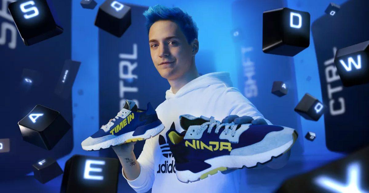 人気スポーツブランド「アディダス」から有名ストリーマー「Ninja」モデルのスニーカーが12月31日(火)に発売決定
