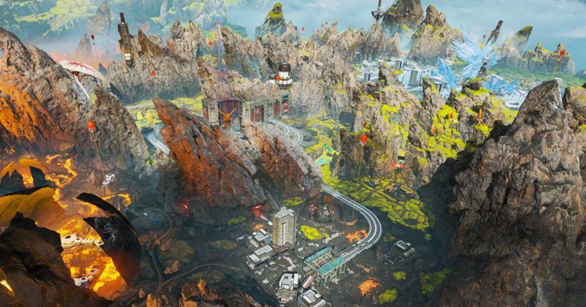 Apex Legends マップ「ワールドエッジ」の下に潜ることができる「穴」が発見される