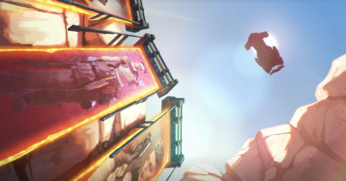 Apex Legends シーズン4の伏線らしき謎の宇宙船がゲーム内で発見される