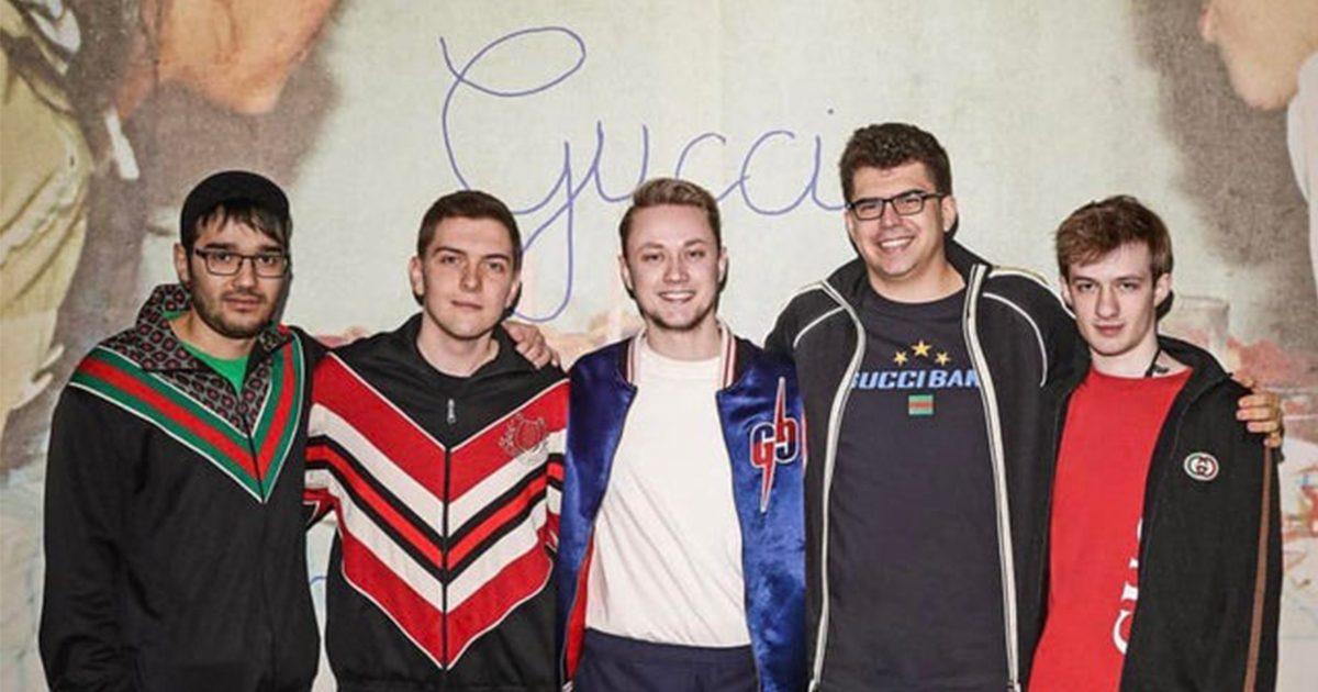 人気esportsチーム「Fnatic」が有名ブランド「グッチ」の招待でファッションショーに参戦