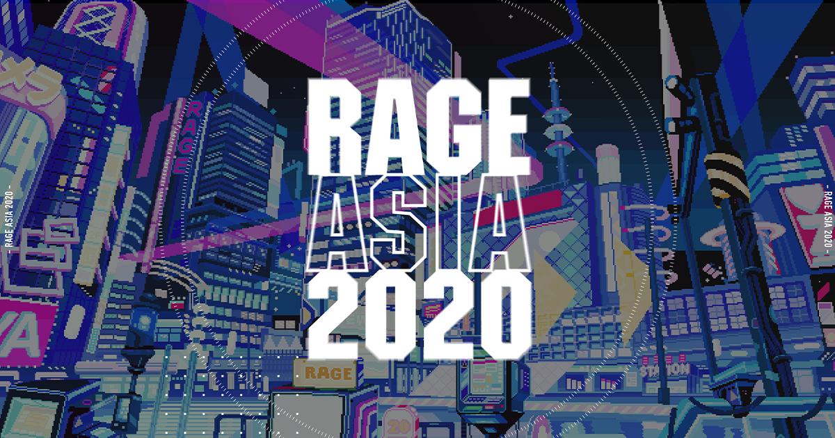 RAGE初の国際大会「RAGE ASIA 2020」が8/29(土)・30(日)に開催 採用タイトルは「Apex Legends」「荒野行動」