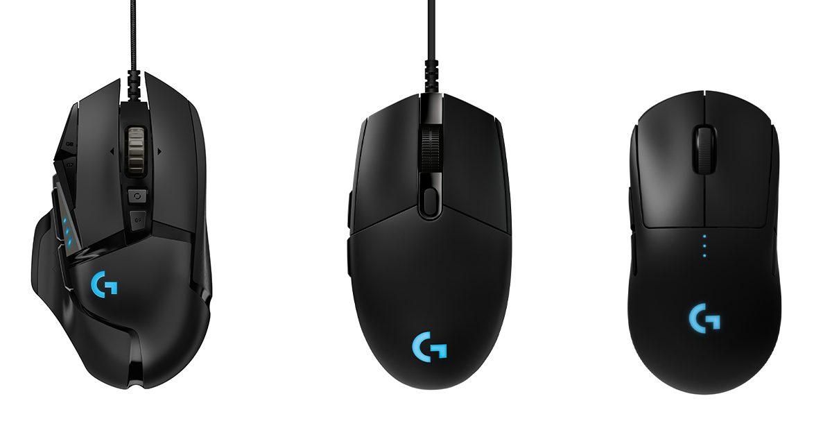 ロジクールG ゲーミングマウス3種類のリニューアル販売が決定 2020年8月20日(木)より販売開始
