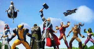 フォートナイト チャプター2シーズン4「ネクサス・ウォー」が開幕 アイアンマンやソーなどマーベルキャラクターが多数登場
