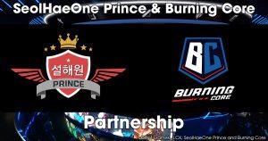 LJL「Burning Core」と LCK「SeolHaeOne Prince」がesports事業におけるパートナーシップ契約締結を発表