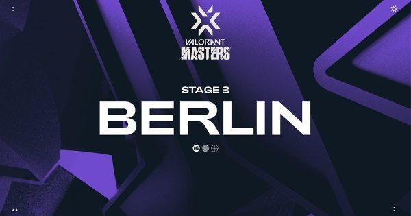 VALORANT 「2021 VCT STAGE3 MASTERS」出場チームまとめ 9/10〜9/19にドイツ・ベルリンで開催